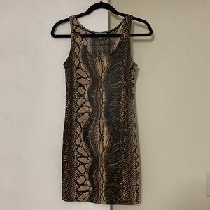 Dresses & Skirts - Snakeskin mini dress